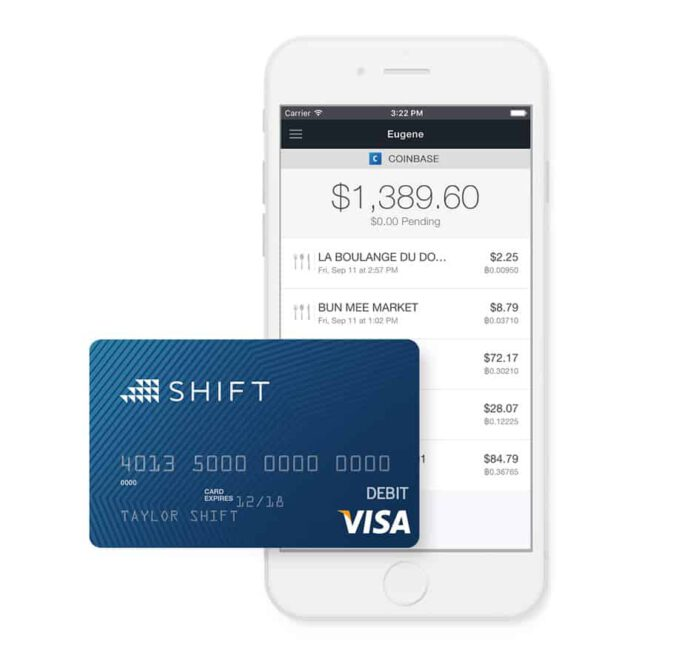 Coinbase Announces New Bitcoin Debit Card in Deal with Shift Payments
