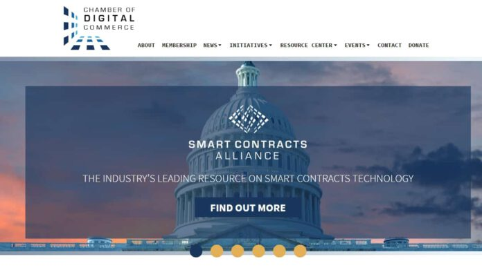 Chamber of Digital Commerce Launches Smart Contracts Alliance