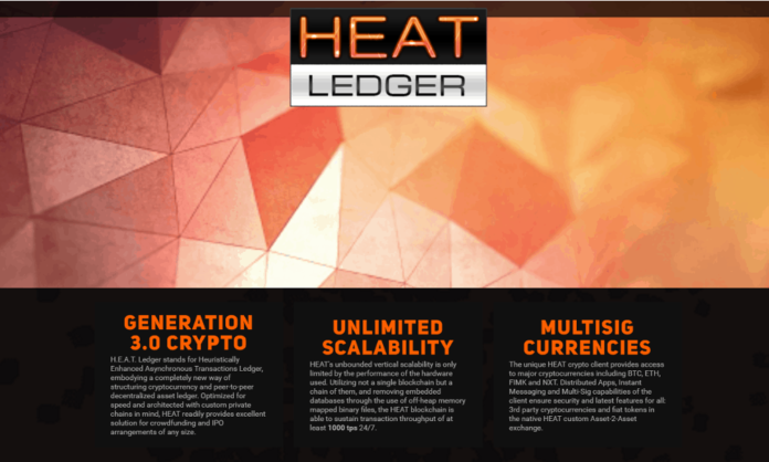 HEAT – Blockchain-Based Crowdfunding 3.0 Platform to Support Startups – Launched by The Decentralised Conglomerate