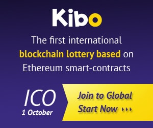 Kibo Blockchain Lottery