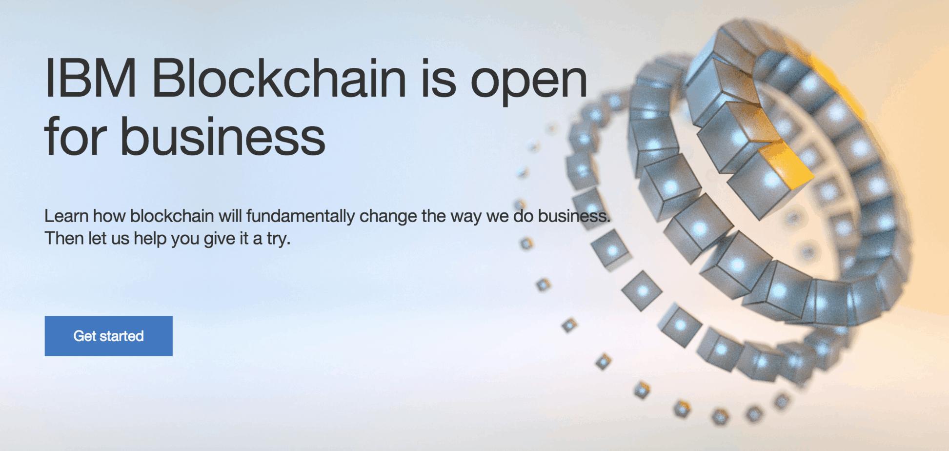 ibm blockchain platform
