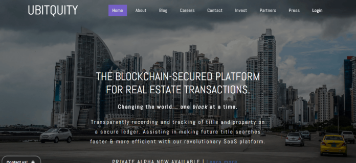 Blockchain-secured Platform For Real Estate Transactions Ubitquity  Partners With Virginia Beach-based Priority Title & Escrow For US Pilot