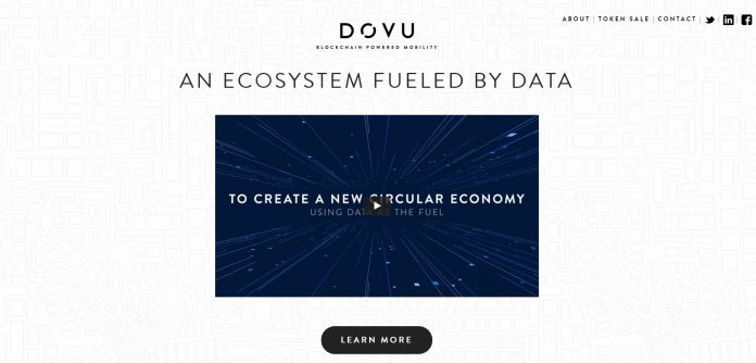 DOVU, Blockchain Powered Mobility, Backed by InMotion Ventures, Powered by Jaguar Land Rover