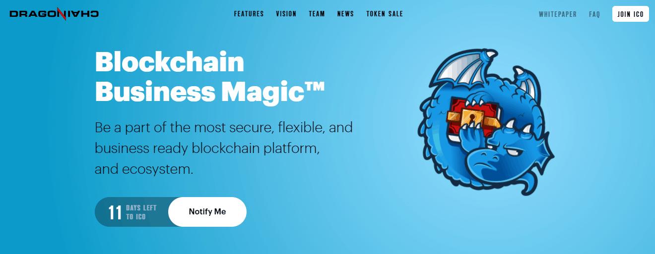 Dragonchain,... Python Blockchain