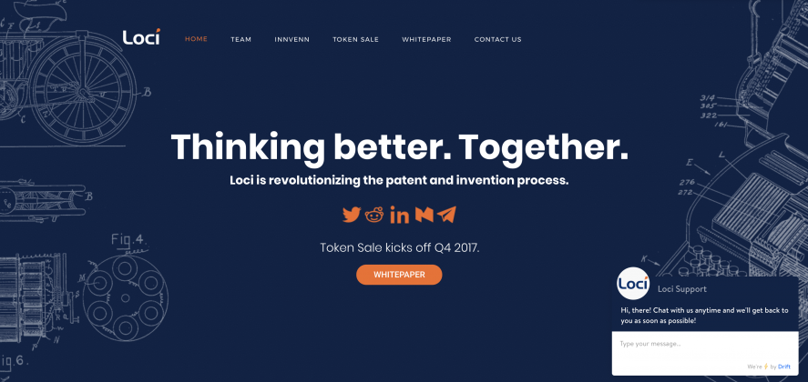 LOCI. The Blockchain of the Patent World.