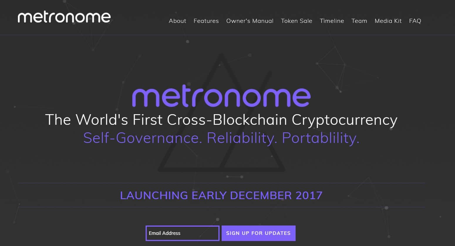 metronome price cryptocurrency