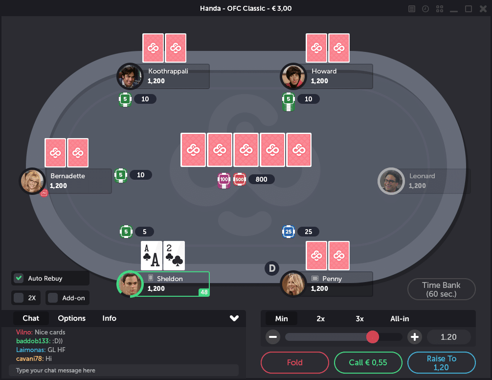 CoinPoker Table