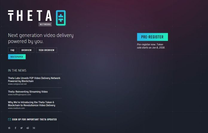 Advised by the Co-Founders of YouTube and Twitch, Theta Announces a Blockchain-based Video Delivery Network