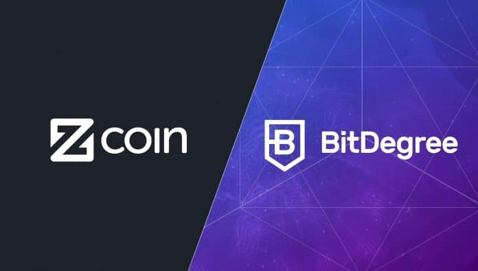 BitDegree Teams up with Zcoin to Develop Cryptography Course