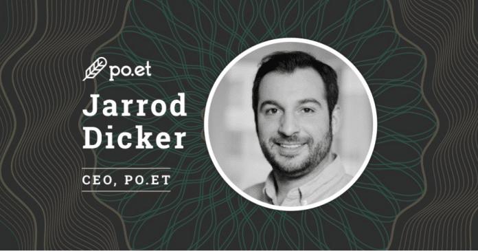 Po.et Taps Jarrod Dicker as New CEO