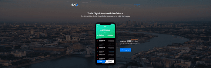AAX Digital Asset Exchange to be Powered by London Stock Exchange Group Technology