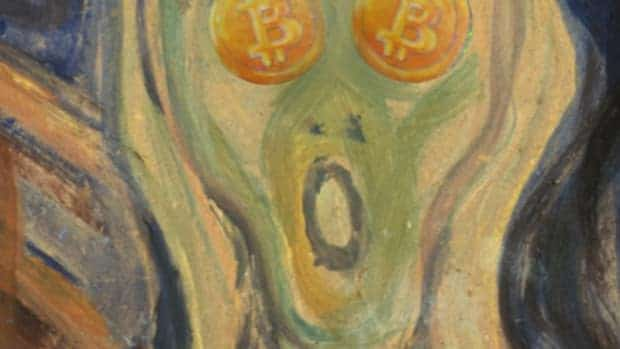 munch scream bitcoin tall