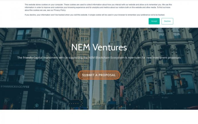 NEM Ventures Investments in IoT-based Startup IoDLT