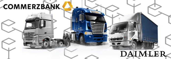 Commerzbank And  Daimler Trucks Test Machine-to-machine Payments On Blockchain