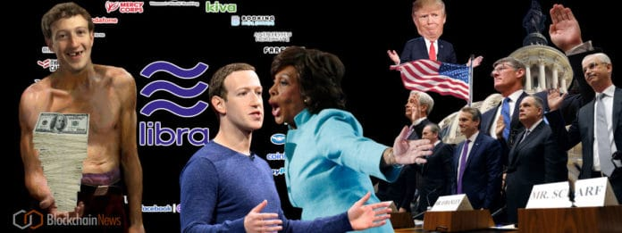 Politicians Argue Facebook's Cryptocurrency Libra is a Threat to American Hegemony.  Zuckerberg Argues Watch Out for China