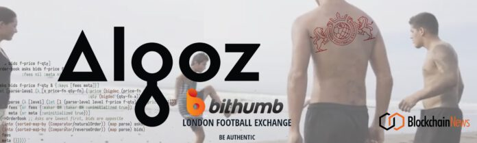 Leading Cryptocurrency Trading Solution Company Algoz to Provide Liquidity London Football Exchanges