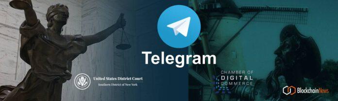 La Cámara de Comercio Digital de DC Blockchain Advocacy Group apoya Telegram vs. El caso de la SEC