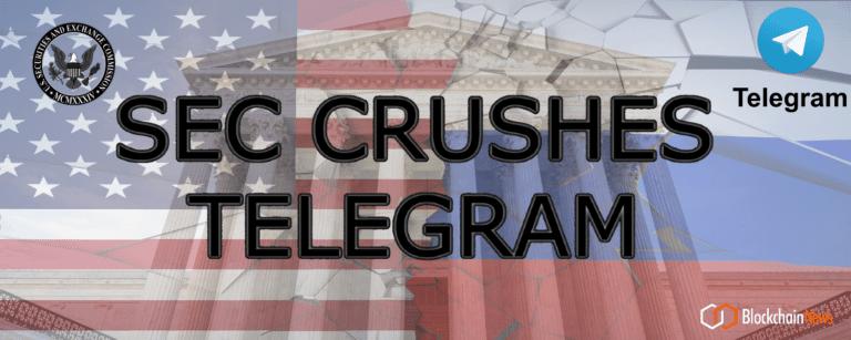 Telegram to Give Back $1.2 Billion to Investors – SEC Piles On $18.5 Million Fine