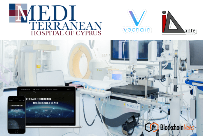 VeChain Teams up with I-Dante To Build Blockchain-Enabled Medical Data Management Platform for Cypriot Hospital – Blockchain News, Opinion and Jobs 1