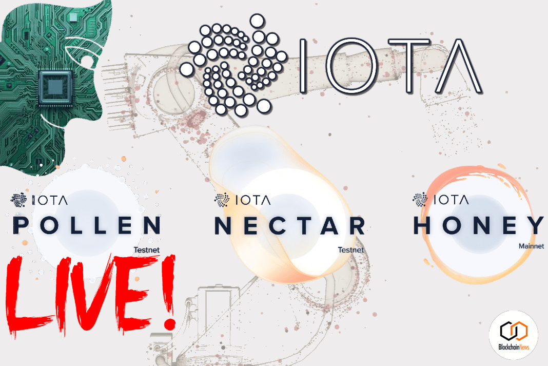 Testnet: IOTA Rolls Out Pollen Release – Its First Fully Decentralized Network
