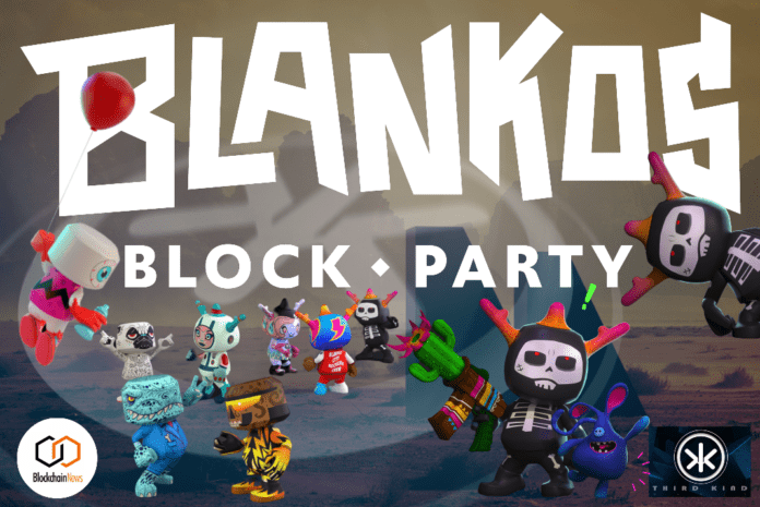 Blankos Block Party, MMO, Mythical, gaming, technology, studio, game industry,