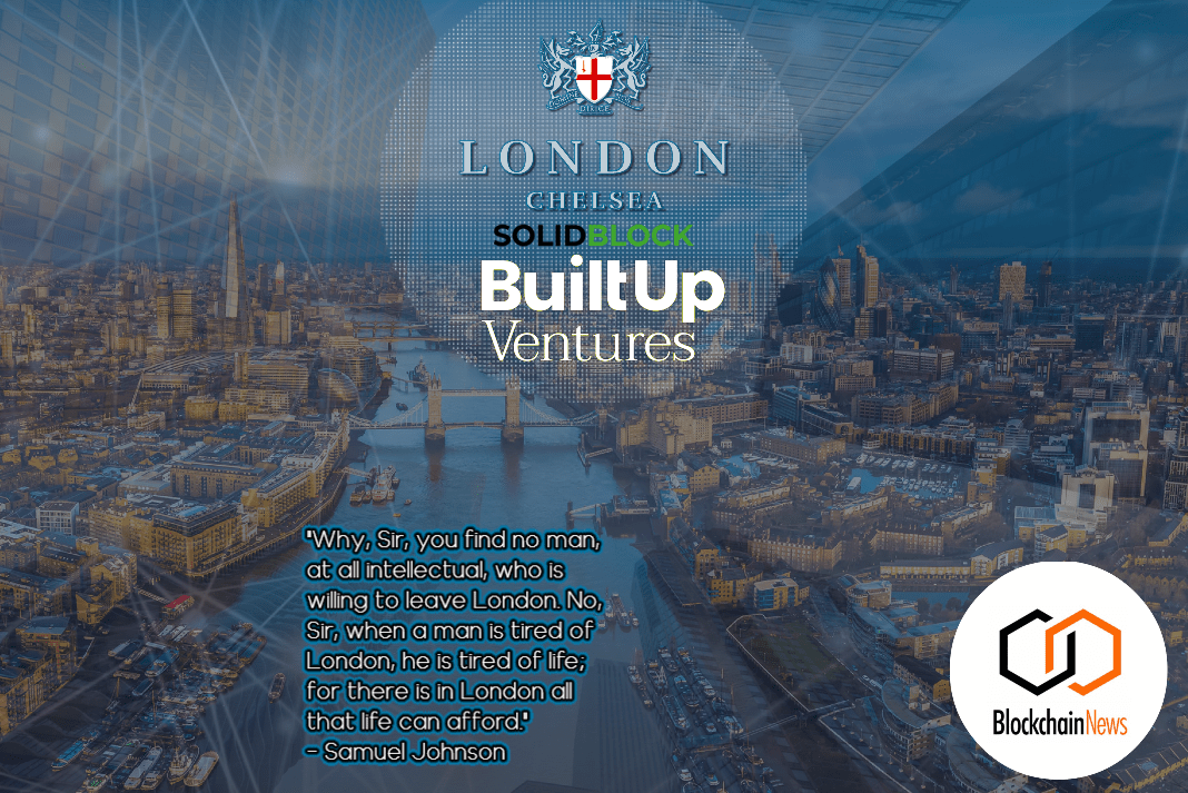London Chelsea Limited Partners With Solidblock To Digitally Raise Financing For London Digital Bond – A Single-family Property Fund Will Be Financed Through Blockchain-based Securities For The First Time Globally