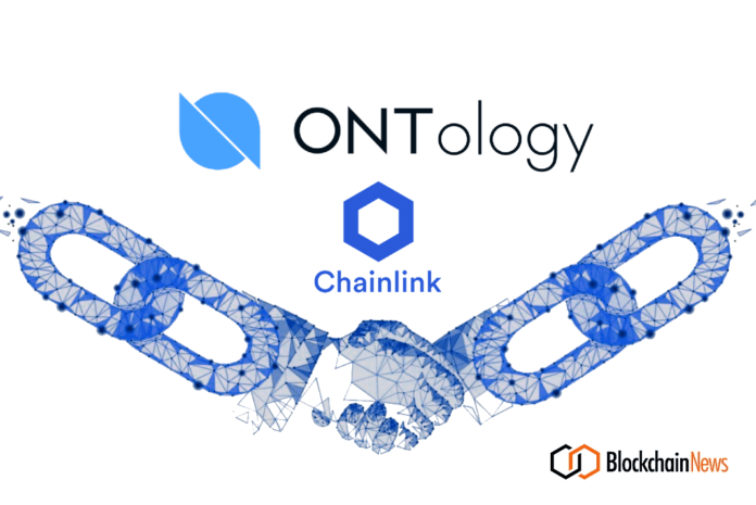 ontology, chainlink, deal, signed