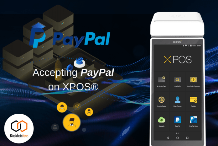 paypal, xpos, pundix, payment, singapore, cryptocurrency, blockchain