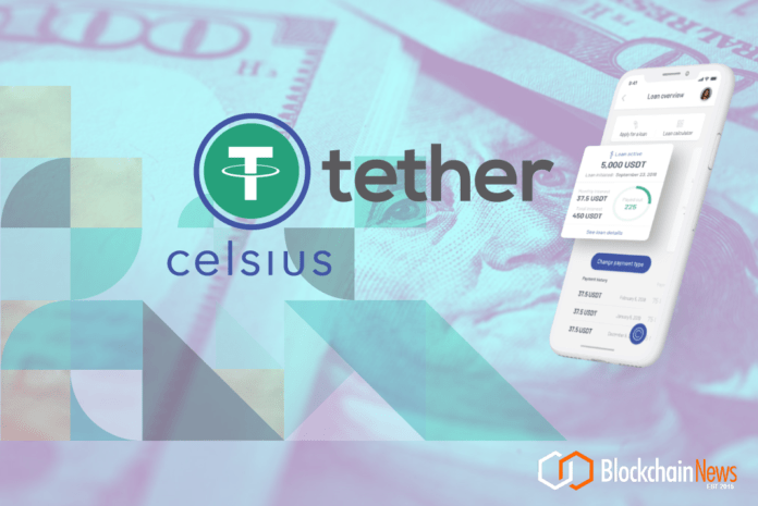 Tether, Celsius, Investment, Deal, Equity, Round,