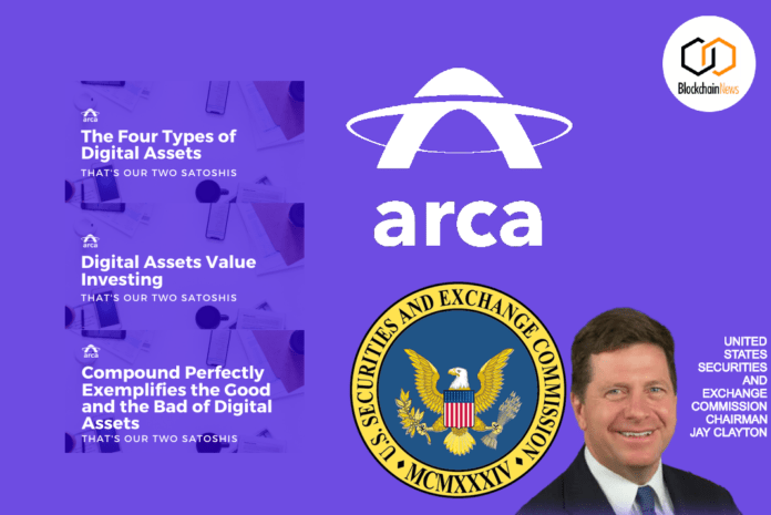 ARCA, SEC, Digital Assets, cryptocurrency, approved, tokens, sale, token sale, STO, Securities