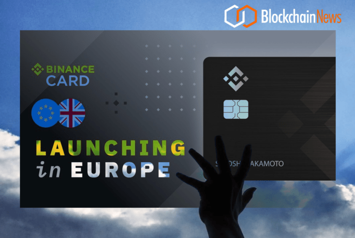 Binance, Card, Launches, Europe, Crypto, Debit, Payments, debitcard, debit card, exchange, market, markets, crypto, cryptocurrency, investment, exchange, investors, invest, investing, issuers, digital assets, cryptocurrency, cryptoassets, trade, securities, security, tokens, tokenomics, cryptoeconomics