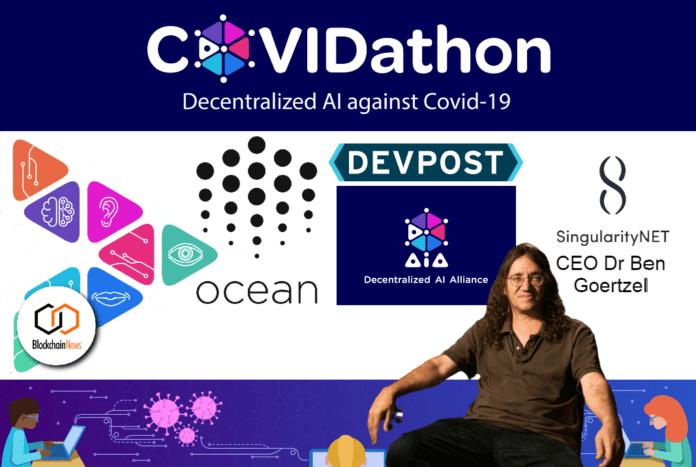 Coronavirus, COVID10, COVID-19, coronavirus, COVIDathon, decentralized, AI, Blockchain, Coronavirus, singularitynet, devpost, ocean protocol, hack, hackathon, hackers, hacking, DAA, Goertzel