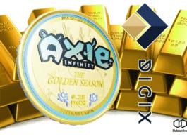 axie infinity, digix, gold, backed, token, crypto, cryptocurrency, gaming, blockchain, fantasy, rewards, tokenomics, NFT, cryptoeconomics