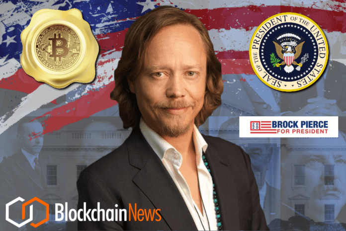 brock pierce, president, united states, usa, election, 2020, candidate, whale, bitcoin, foundation, actor, pierce, brock, running, president, whitehouse, white house, election, federal, elections