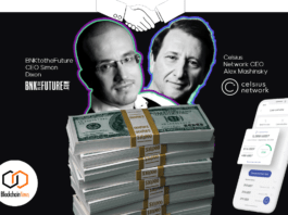 celcius, bnktothefuture, investment, raise, funding, vc, venture capital, round, seed, finance, cryptocurrency, tokenomics, cryptoeconomics