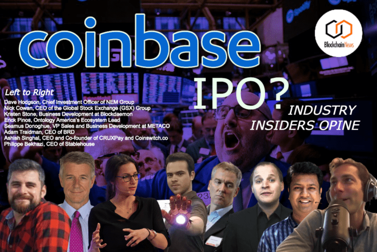 Industry Insiders Pontificate on IPO and Direct Listing Rumours of US Cryptocurrency Exchange Behemoth Coinbase in Late 2020