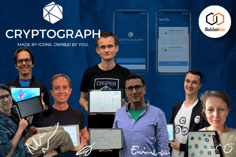Cryptograph Launches — Featuring Original Creations by World Crypto Leaders Blockchain-Based Digital Collectible Auction Site
