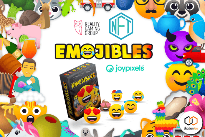 emojibles, reality gaming group, nft, joypixels, collect, trade, share, emojis, cryptocurrency, tokens, NFT, NFTs