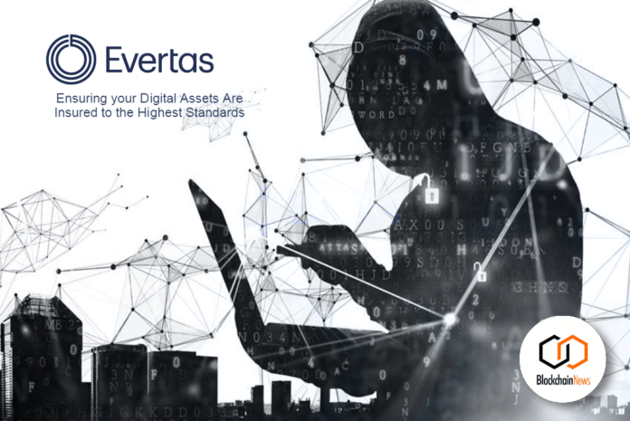 evertas, digital assets, insurance, cryptoassets, treasury, custody, security, insure, cryptocurrency, blockchain