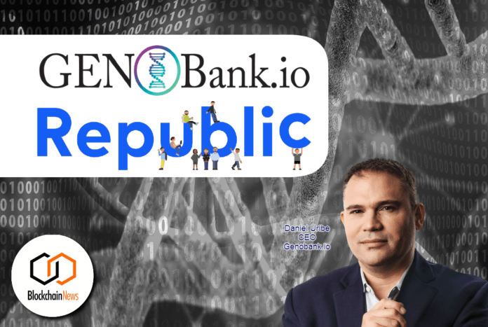 genobank, republic, equity, crowdfunding, dna, anonymous, genetic, protect, privacy, genes,