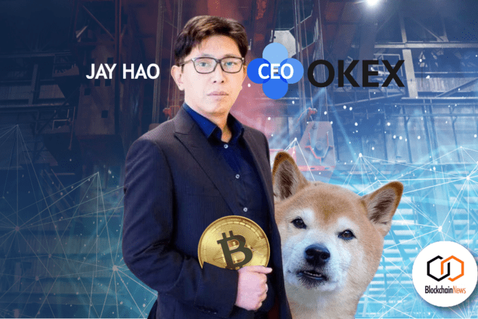 jay hao, okex, dogecoin, bitcoin, cryptocurrency, trading, traders, exchange, exchanges