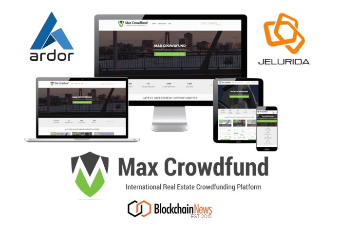 max,crowdfunding,ardor,sto,security,tokens,realestate,platform,afm,netherlands,regulators