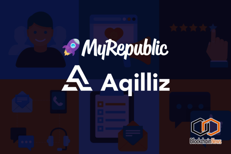 Telecoms Giant MyRepublic Teams Up With Marketing Technology Provider Aqilliz To Create Blockchain-Based Loyalty Programme