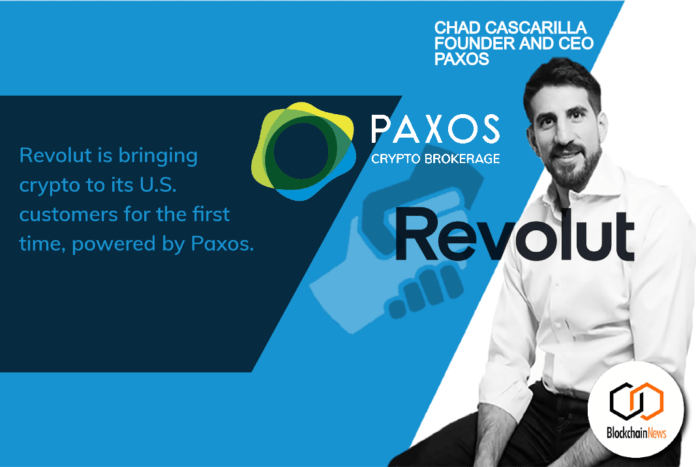 revolut, usa, crypto, trade, trading, paxos, digital assets, USA, American, NYC, crypto, cryptocurrency, cryptocurrencies, mobile, banking, bank, UK, regulations, trading, American