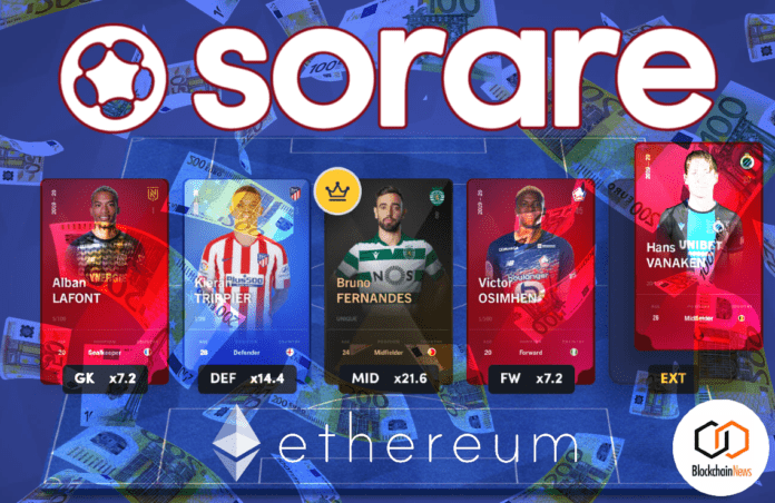 sorare, soccer, fantast, football, seed, round, invest, investors, football, NFT, non-fungible tokens, tokens, tokenize, tokenomics, cryptoceconomics, crypto,