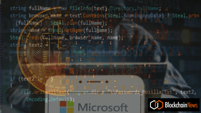 Microsoft Security Intelligence Tweets Alert to Crypto Investors After Discovering New Malware Targeting Windows Users 1