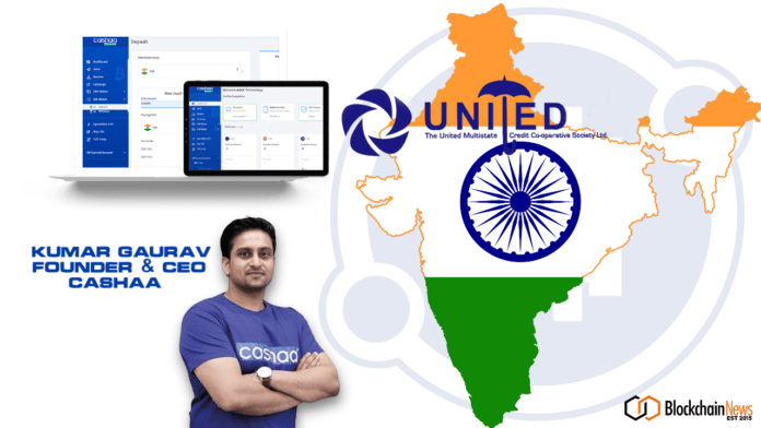 cashaa, unicas, joint venture, crypto lounges, india, cryptocurrency, bank, banking, crypto