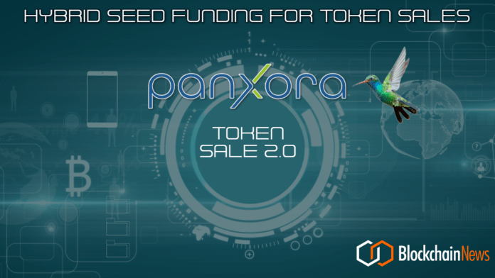 panxora, seed, funding, blockchain, cryptocurrency, hedge fund, blockchain, investment, startup